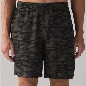 Lululemon men's camo shorts